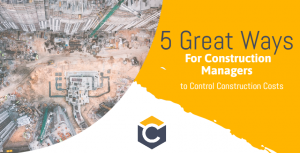 5 great tools for construction costs